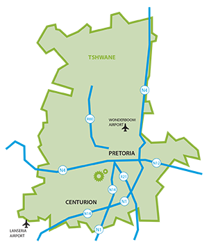 ecoone location map